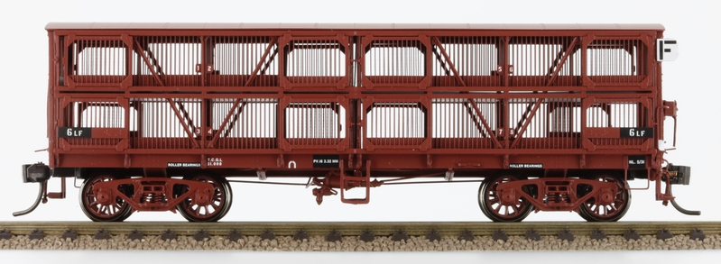 Victorian Railways Ll Sheep And Mm Cattle Wagon
