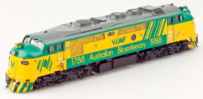 "Line ""A"" Class Diesel Electric Locomotive"