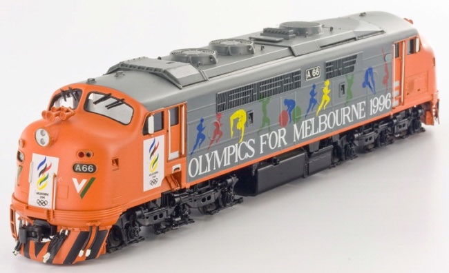 "V-Line ""A"" Class Diesel Electric Locomotive"