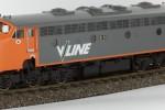 V-Line B Class Diesel Electric Locomotive