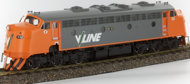 V-Line B Class Diesel Electric Locomotive