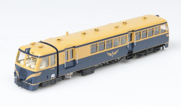 V.R. Walker Rail Motor 102-153 H.P. Diesel Rail Car & Trailer